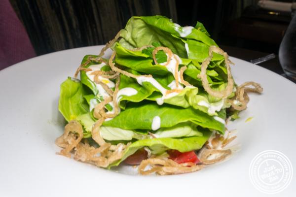 Bibb salad at Charlie Palmer Steak in NYC, NY