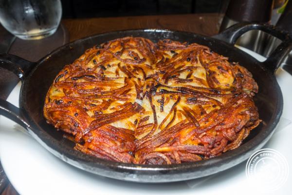Hash brown at Charlie Palmer Steak in NYC, NY