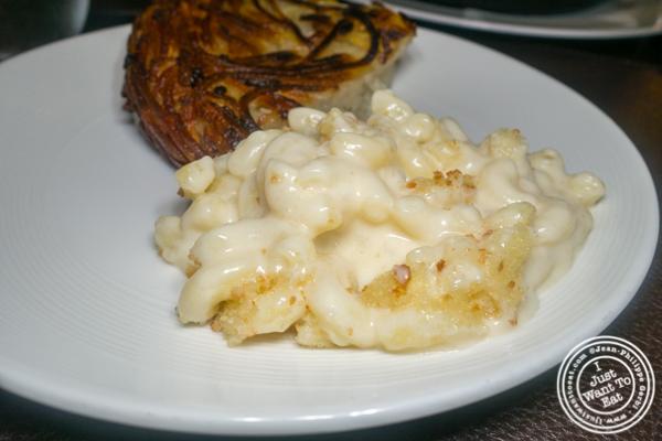 Mac and cheese at Charlie Palmer Steak in NYC, NY
