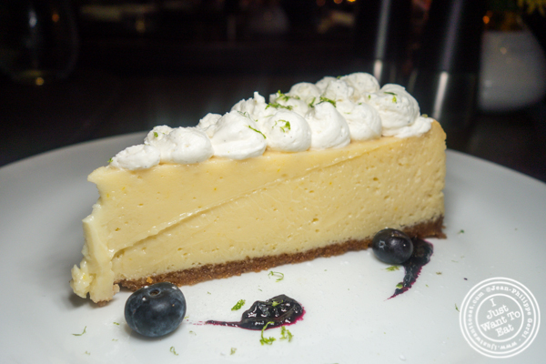 Key lime pie at Charlie Palmer Steak in NYC, NY