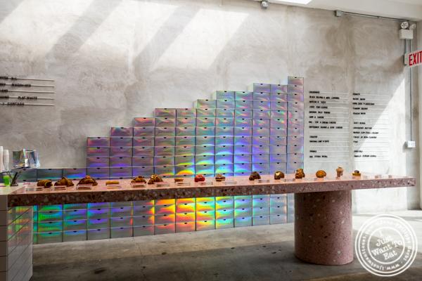 Treats selection at Supermoon Bakehouse in NYC, NY