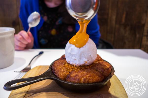 Coconut monkey bread at Spot dessert Bar in the East Village