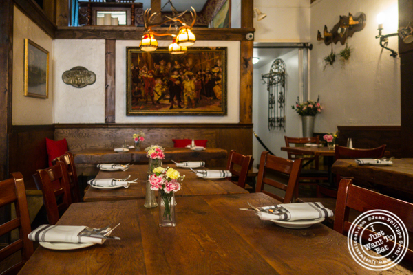 Dining room at Heidelberg on the Upper East Side