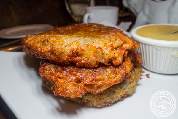 Potato pancakes at Heidelberg on the Upper East Side