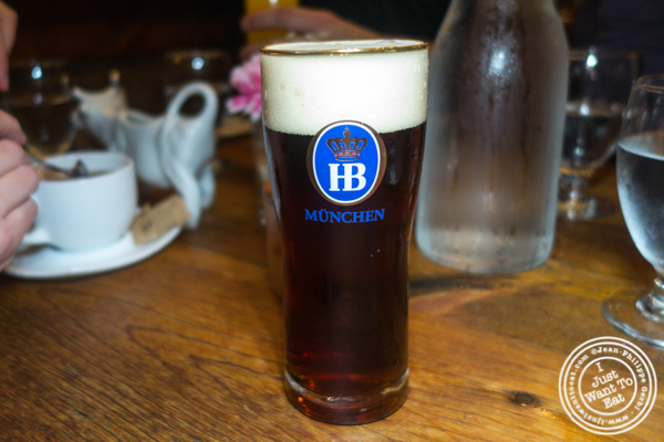 Hofbrau dunkel at Heidelberg on the Upper East Side