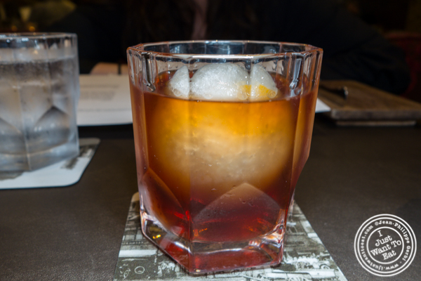 Old fashioned at Sepia in Chicago, IL