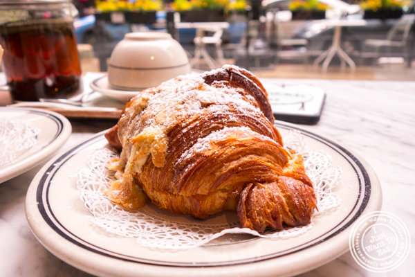 Almond croissant at Goddess and The Baker in Chicago, IL