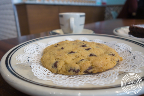 Chocolate chip cookie at Goddess and The Baker in Chicago, IL
