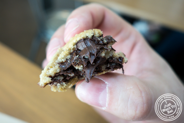 Chocolate chip cookie at Culture Espresso at in NYC, NY