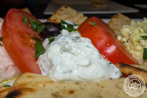 Tzatziki at Dafni Greek Taverna in NYC, NY