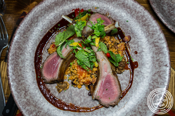 Lamb at Woodpecker by David Burke in NYC, NY