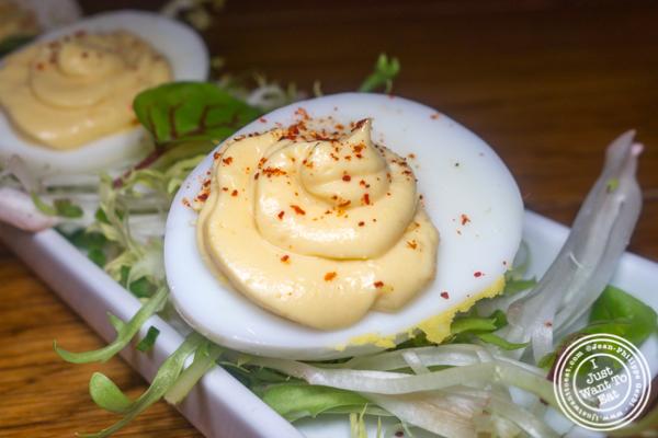 Oeuf mayonnaise at Bar Boulud in NYC, NY
