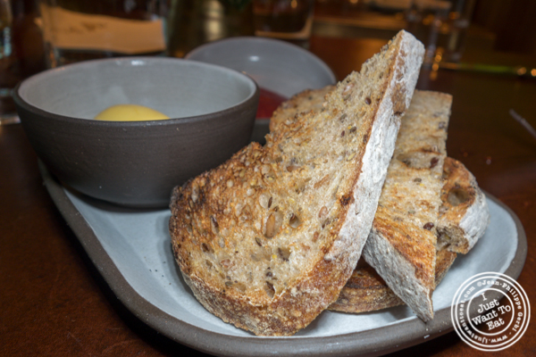Bread and butter at Legacy Records in Hudson Yards