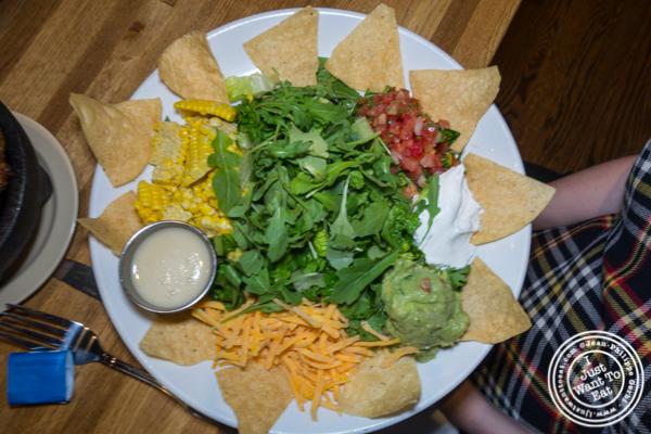 Taco salad at Habanero Blues in NYC, NY