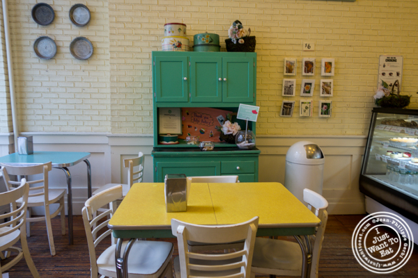 Dining room at Billy's Bakery in TriBeCa