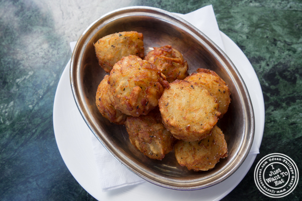 Hash brown at Cecconi's in Dumbo