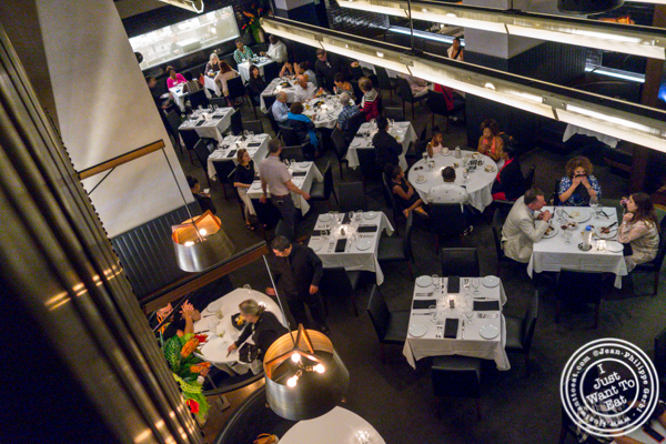 Dining room at Ocean Prime in NYC, NY