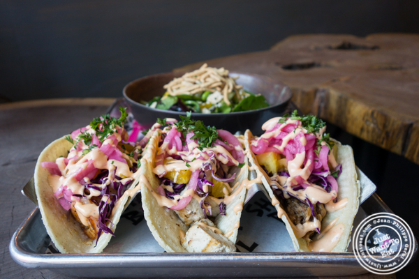 Tacos at Shaka Bowl in Hoboken, NJ