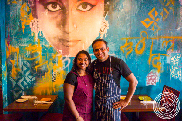 Chef Sampath and Chef Nayak at Soul Curry in Hoboken, NJ