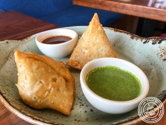 Samosa at Soul Curry in Hoboken, NJ