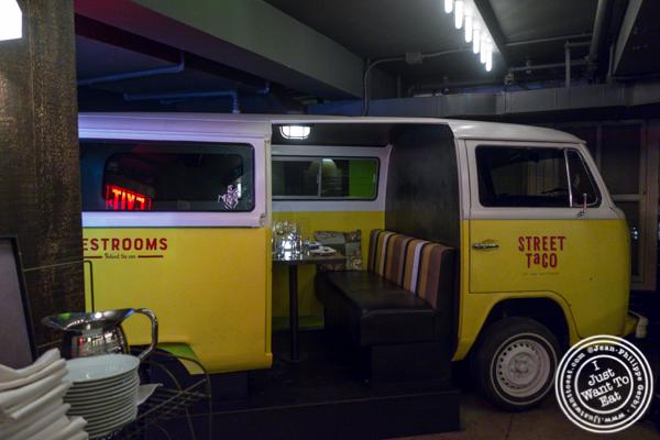 Taco van at The Rag Trader in NYC, NY