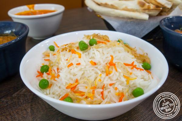 Basmati Rice at Garam Masala in Ridgewood, Queens