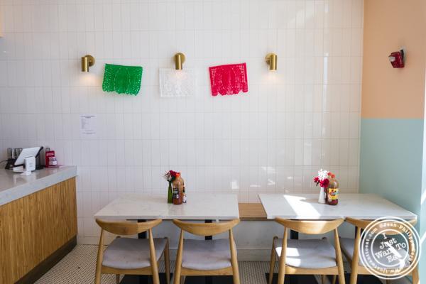 Dining room at Pico Taco in Hoboken, NJ