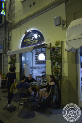 Pizzeria Antica Porta in Florence, Italy