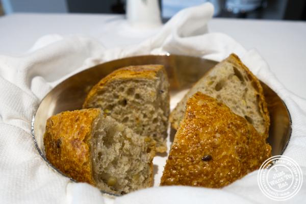 Sourdough and multi-grain bread at Osteria Francescana in Modena, Italy