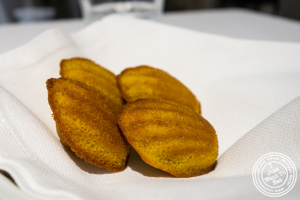 Madeleines at Osteria Francescana in Modena, Italy