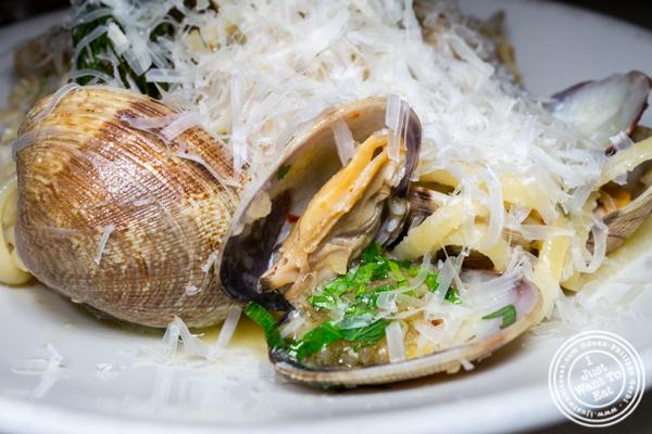 Manilla clams at La Pecora Bianca, Midtown East