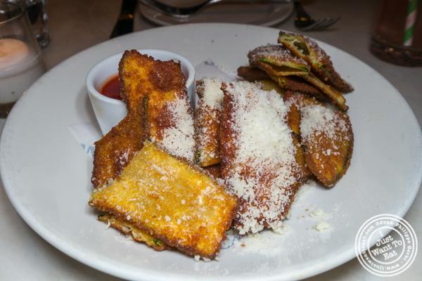 Zucchini fries at La Pecora Bianca, Midtown East