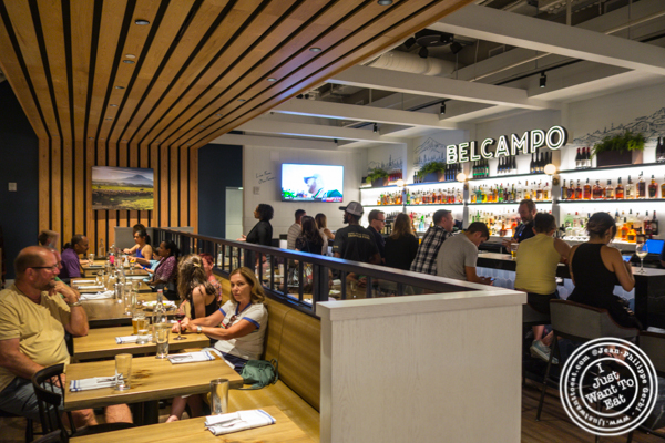 Dining room at Belcampo in Hudson Yards
