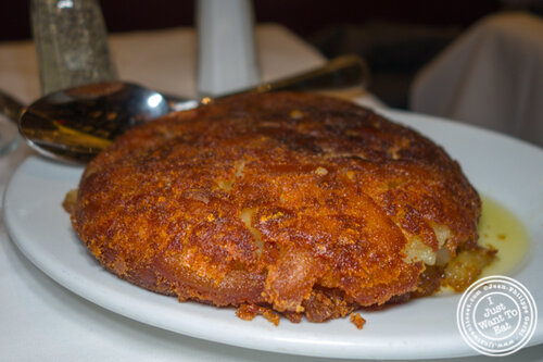 Hash brown at Gallaghers Steakhouse in NYC, NY