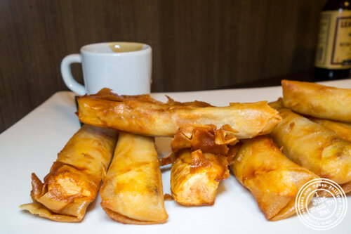 Turon with coconut at Max's, cuisine of The Philippines in Jersey City