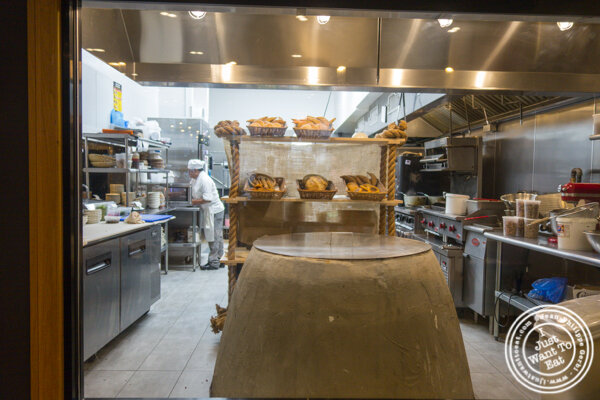 Tone oven at Chama Mama in Chelsea