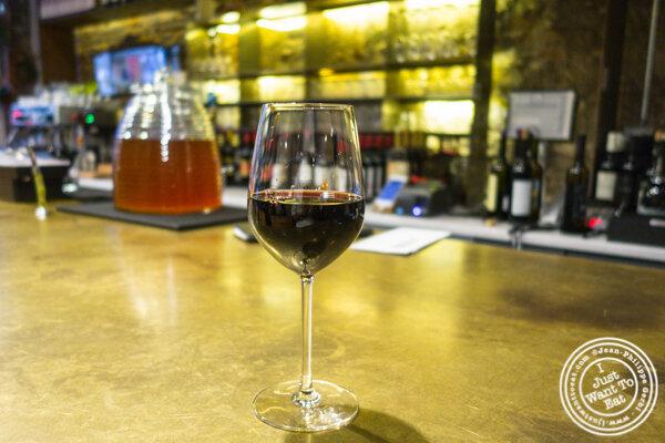 Mosmieri saperai wine at Chama Mama in Chelsea