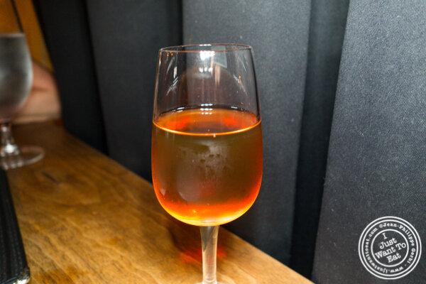 Sherry at Socarrat Paella Bar in Chelsea