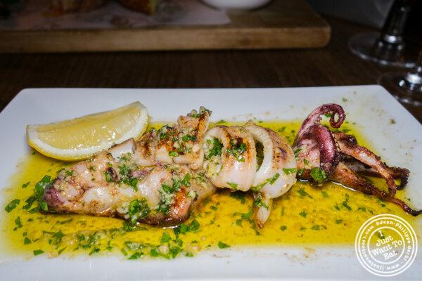 Calamari at Socarrat Paella Bar in Chelsea