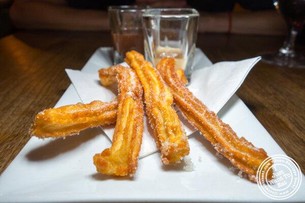 Churros at Socarrat Paella Bar in Chelsea