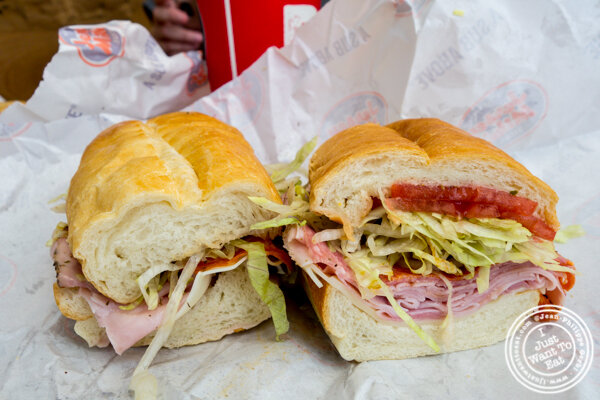 Original Italian at Jersey Mike's Subs in Hoboken, NJ
