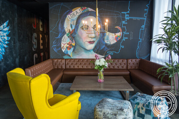 Lounge at Lokal in Jersey City