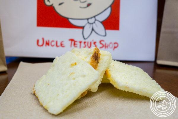 Rusk at Uncle Tetsu cheesecake in NYC. NY
