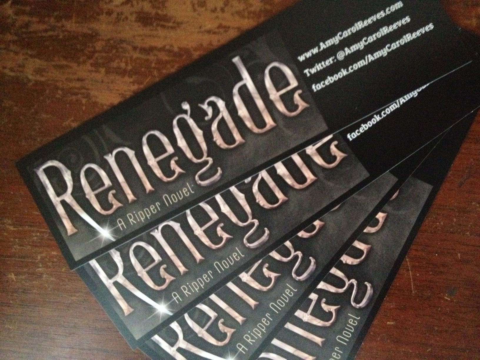 Renegade - bookmarks