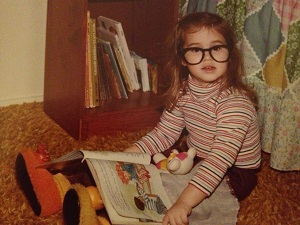 A Bookworm even at the age of three