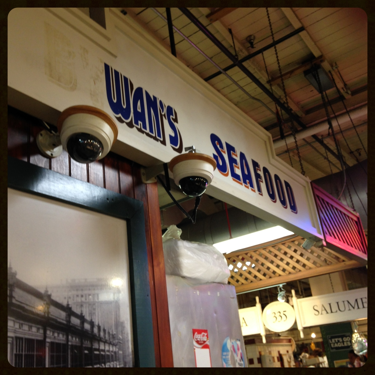 Wan's Seafood at the Reading Terminal