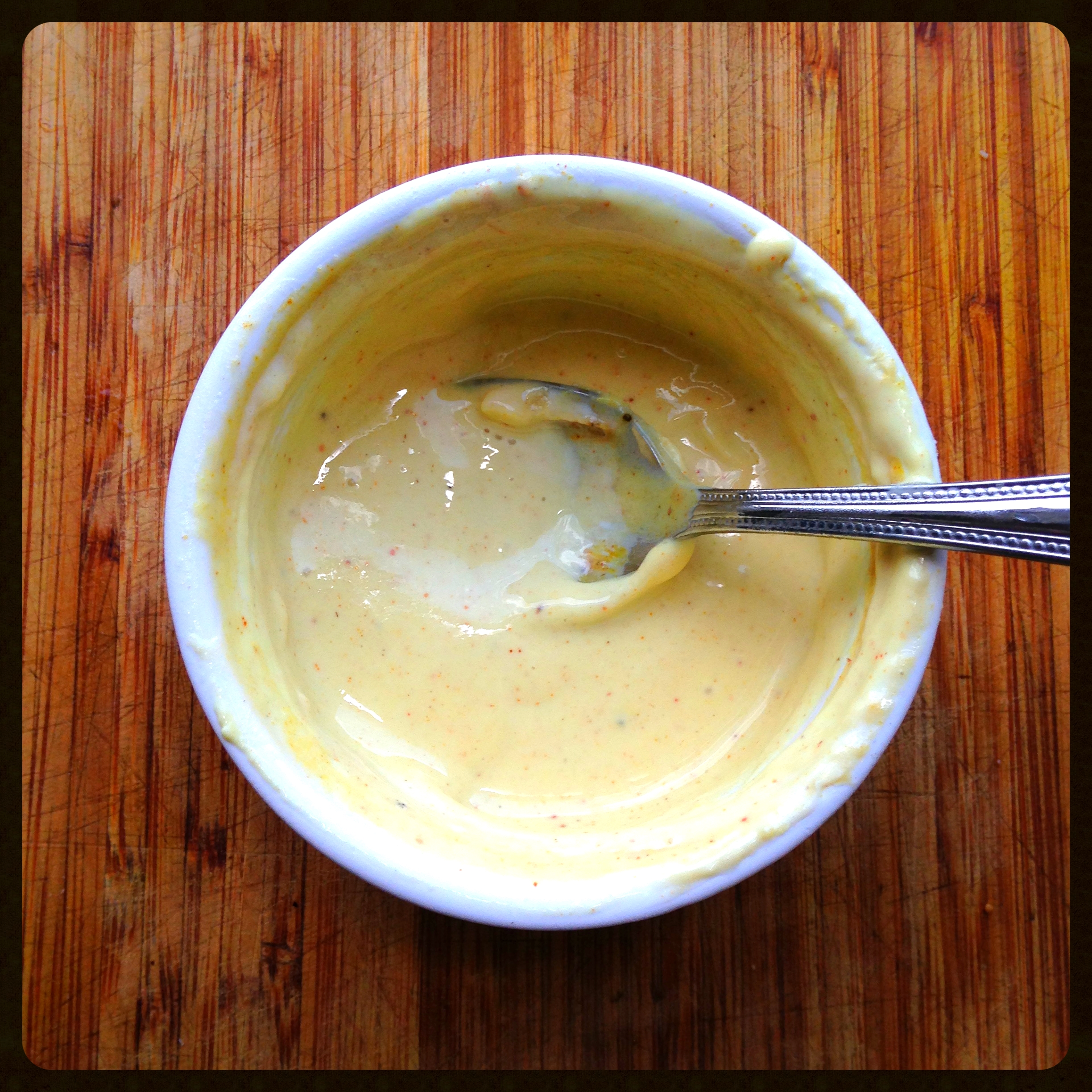 Curry Yogurt Dressing