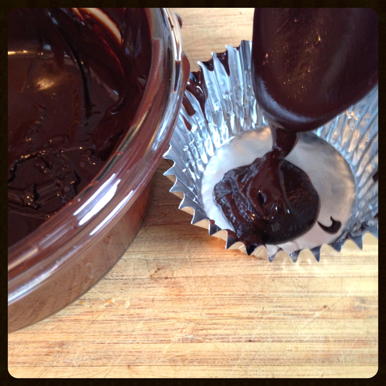 A teaspoon of chocolate