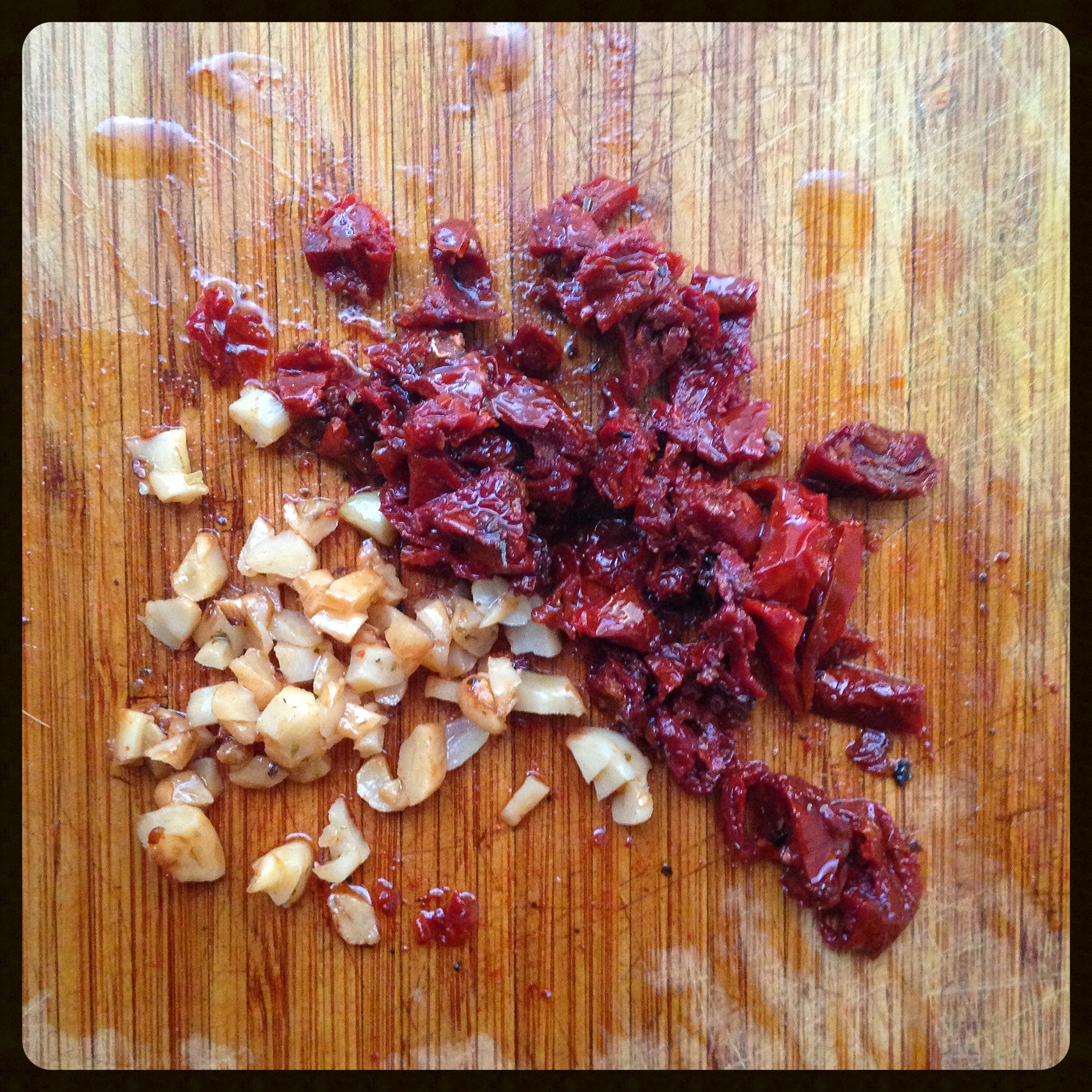 Roasted Garlic and Sun-dried Tomatoes