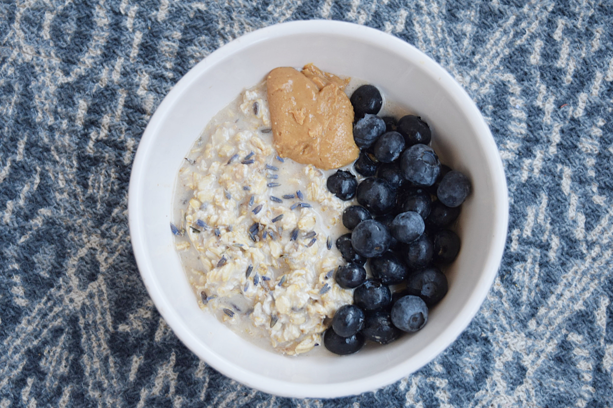 Lavender and Honey Overnight Oats